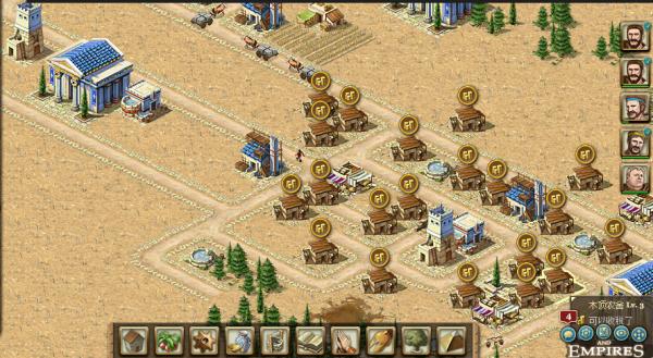 帝国与文明希腊9级怎么可能人口过300