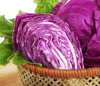 蔬菜沙拉里的紫甘蓝需不需要热水焯一遍?一般怎么弄?
