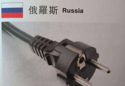 插頭:俄羅斯用什么電源插頭?