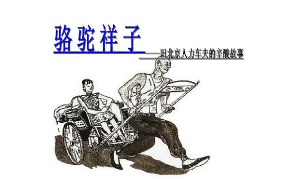 駱駝祥子中洋車夫的職業特點人員構成生活狀況