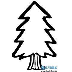 简笔画大树怎样又好看又简单
