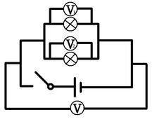 并联电路的总电压等于各支路电压之和吗?