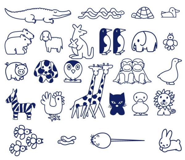 谁有儿童简笔画水果彩图