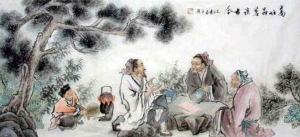 """山高水长的意思什么_""""云山苍苍,江水泱泱,先生之风,山高水长。""""是什么意思 ..."""