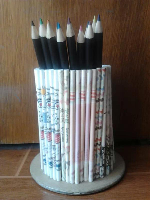笔芯工艺_用笔芯做工艺品图片 一些用完的笔芯可以做成什么东西工艺品 ...