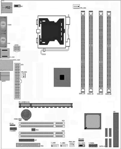 关于七彩虹G41主板机箱直接跳线问题图片