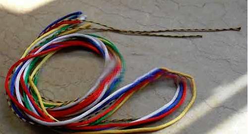 项链绳的编法教程 红绳项链编法大全图解