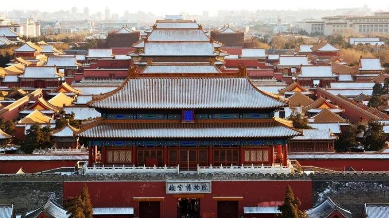 """故宫为什么被称作""""最大的四合院""""?的头图"""