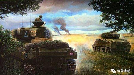 第一次上阵的菜鸟炮手竟能一举击杀纳粹德国坦克王牌魏特曼?