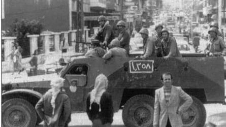 以色列梅卡瓦坦克的首次亮相!上世纪八十年代中东战争坦克战
