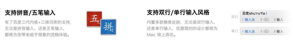 Mac五笔输入法,Mac拼音输入法,Mac输入法预览图