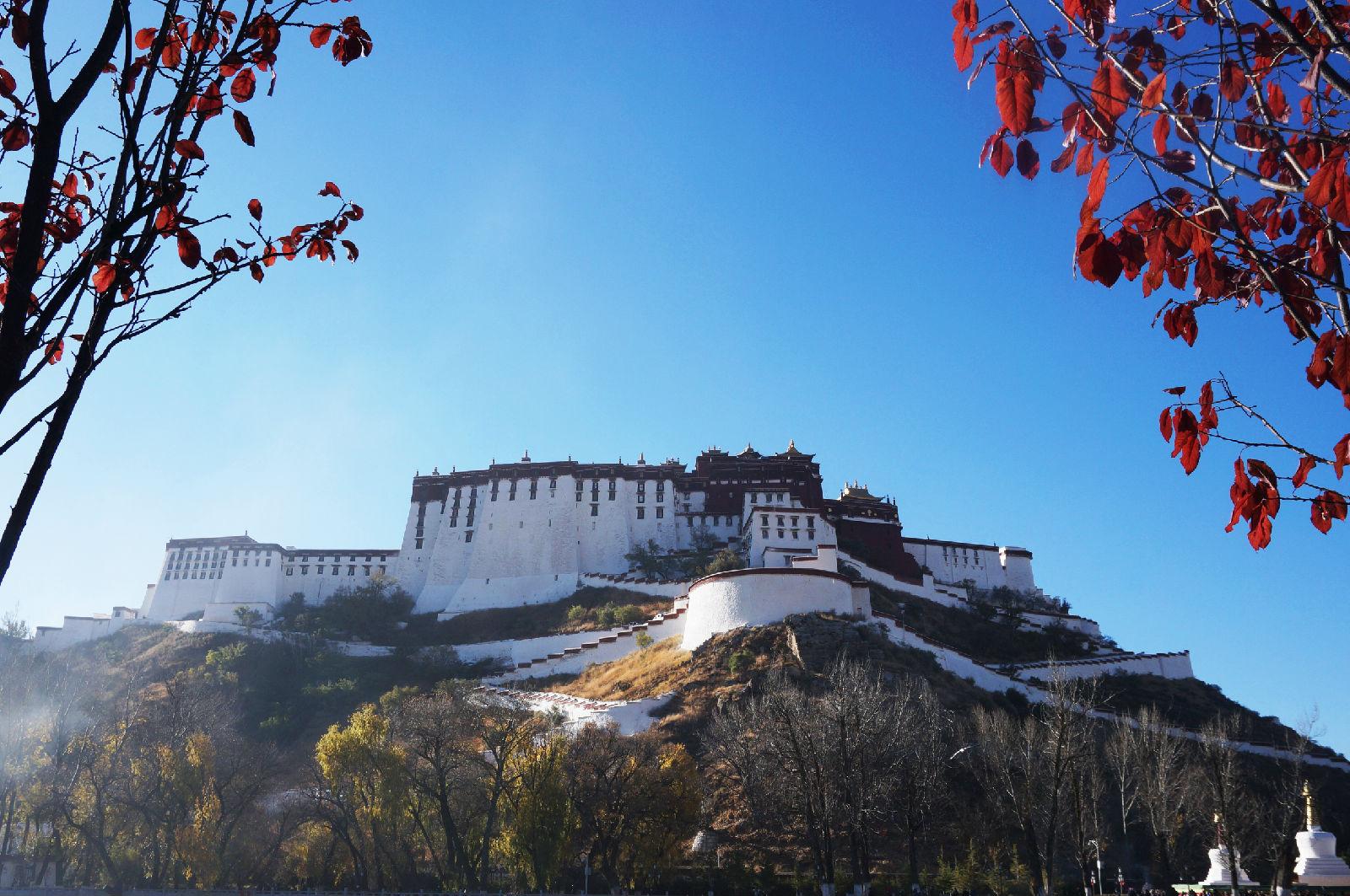 Tibet Lhasa Potala Palace