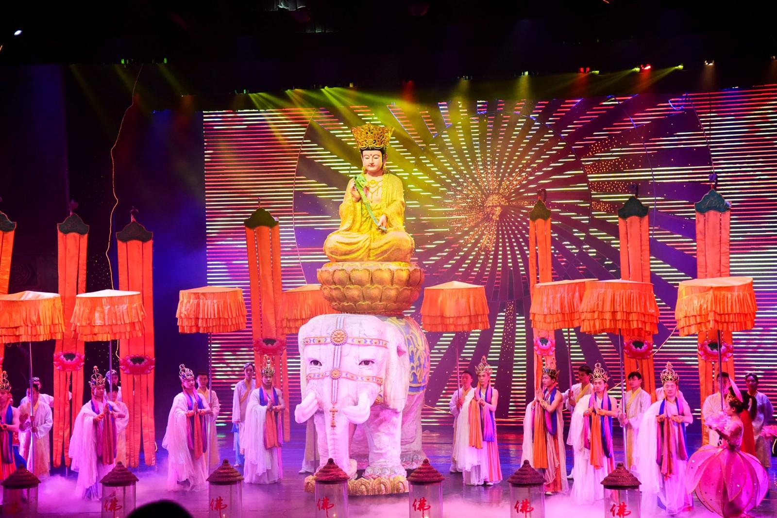 Mount Emeishan Night KungFu Show