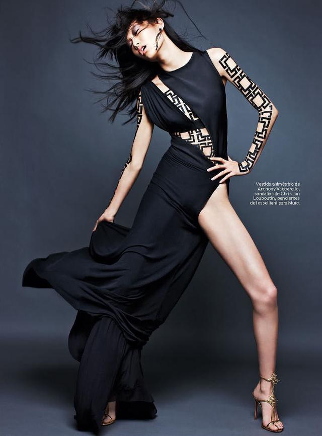 世界知名时装杂志_国际知名的中国超模都有哪些?
