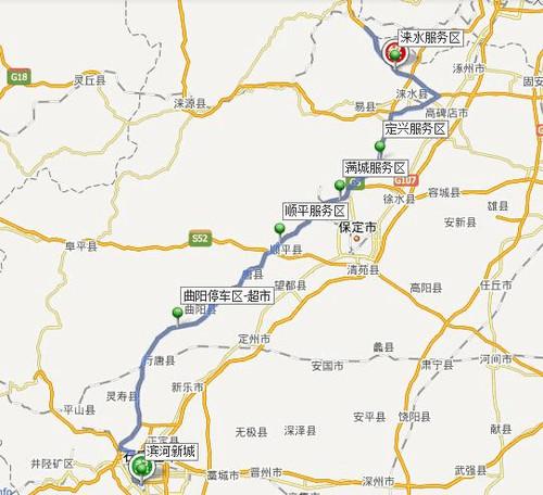 石家庄-北京-张家口-锡林浩特-西乌旗-白音华-乌拉盖 ...