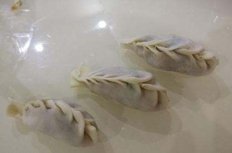 沙縣餃子的包法 如何包餃子圖片