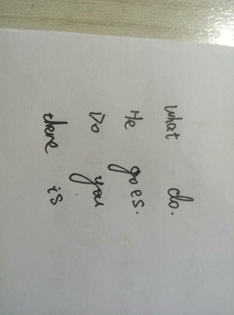 五年级英语句子问答题