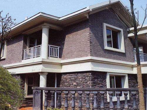 别墅用什么外墙砖,外墙砖的贴图是怎样?