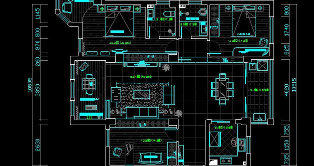 3樓3房一廳一衛生間一廚房102平方設計圖