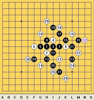五子棋八卦阵破解_五子棋阵法 八门金锁阵怎么摆??(图)_百度知道