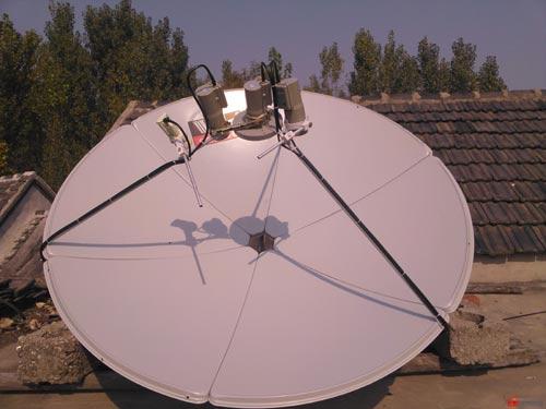 一鍋多星衛星天線_衛星鍋天線_大鍋天線增加衛星