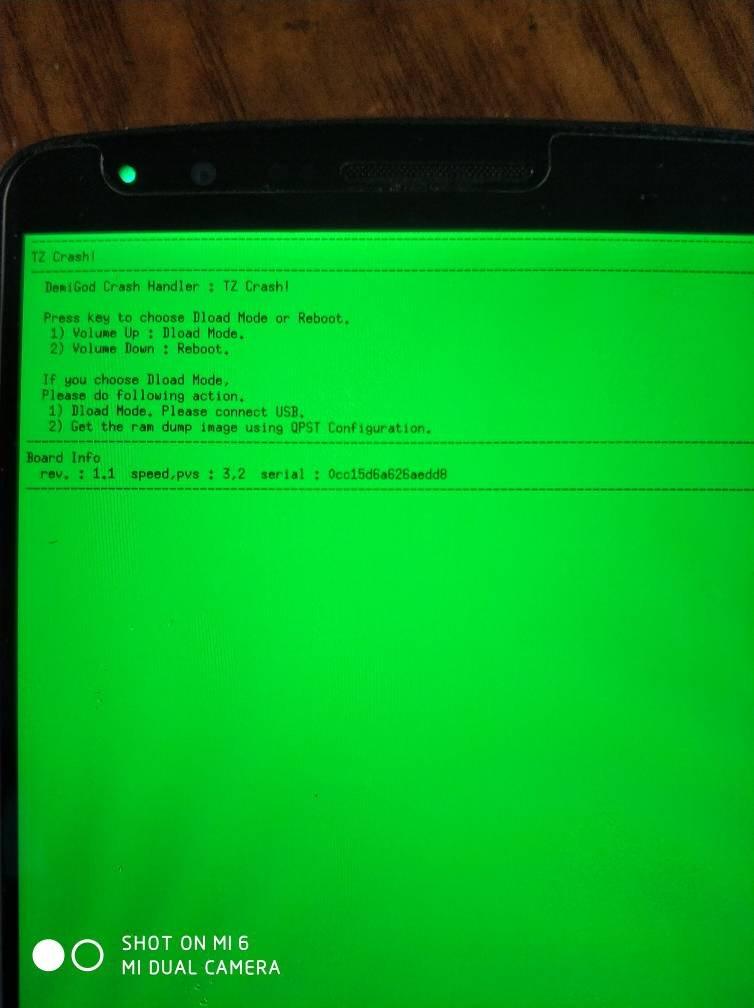 lg手机蓝屏,不知道是不是坏了。能不能刷机。请大侠给予指点