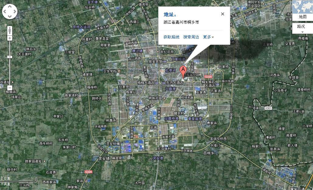 桐乡为什么没有卫星地图