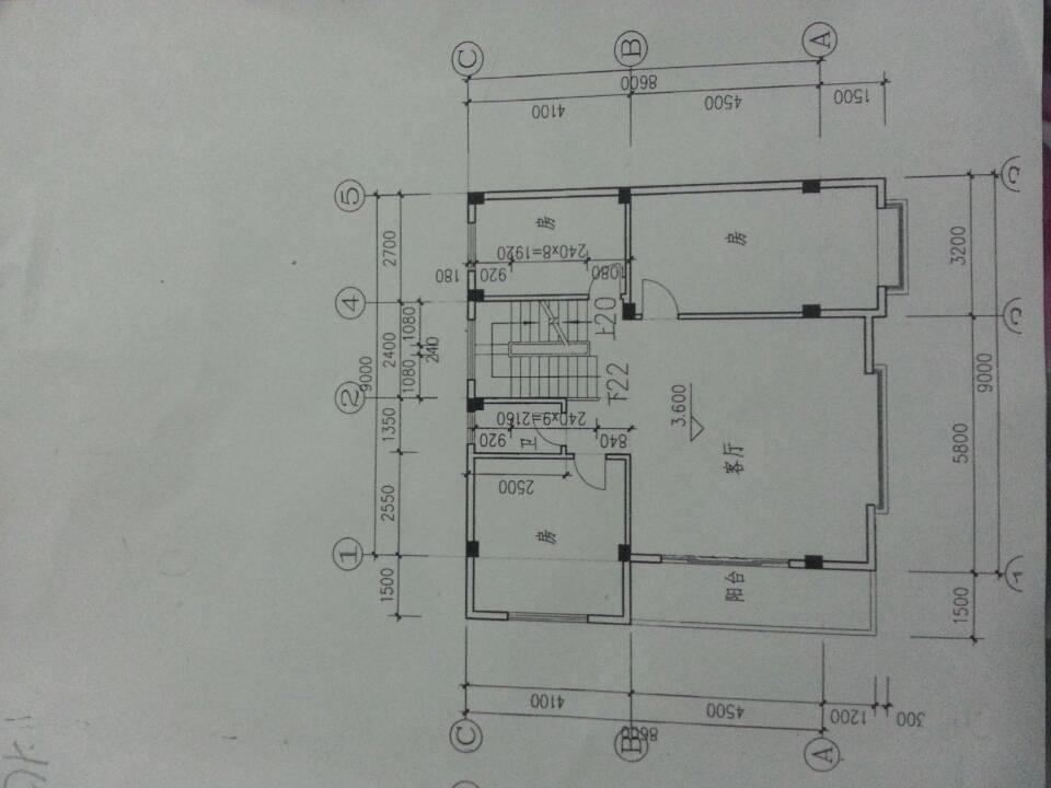 家里要蓋新房子,畫里幅設計圖,但是還要考慮很多問題圖片