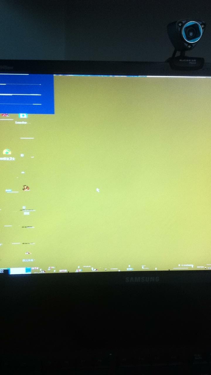 电脑开机桌面图标问题