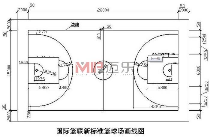 最新篮球场地画法_室内最新篮球场地画法的标准是怎样的_百度知道