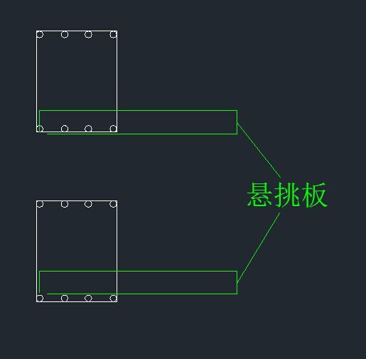 悬挑梁钢筋绑扎照片_悬挑板如果配置的是双层双向钢筋(悬挑板的支座为梁)_百度知道
