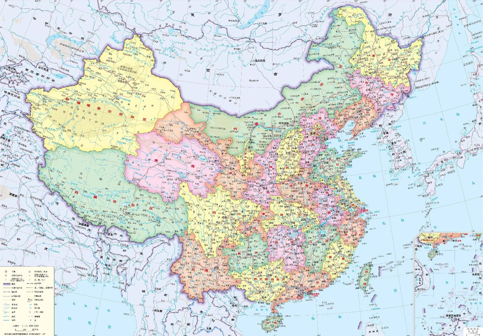 中国地图全图_中国地图高清版大图_百度知道