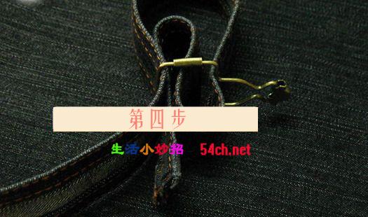 背带裤的扣子怎么装图解法_背带裤的扣子怎么装图解_百度知道