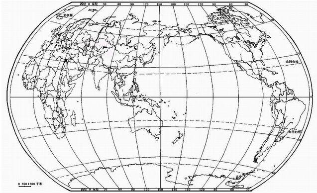 世界地图轮廓怎么画 ?