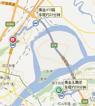 从南京市栖霞区栖霞大道怎么去南京信息工程大学