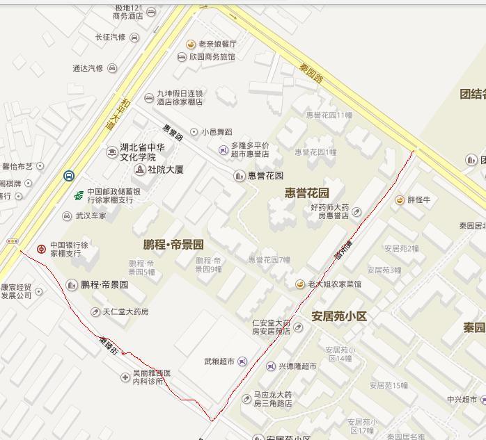 武汉武昌区地图