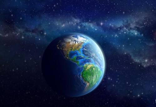 地球也在空中吗