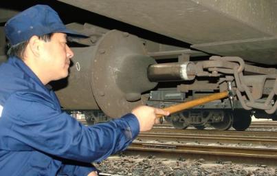 列车制动机图片