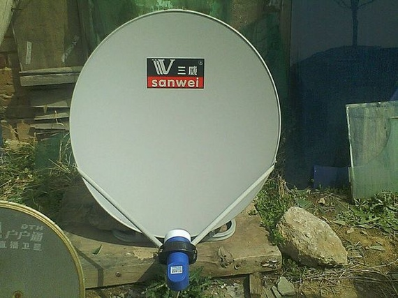 卫星锅高频头_户户通小锅系统设置参数是多少_百度知道