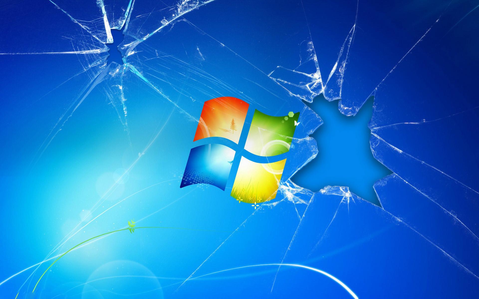 破碎屏幕动漫壁纸_电脑屏幕的壁纸,破碎的感觉。_百度知道