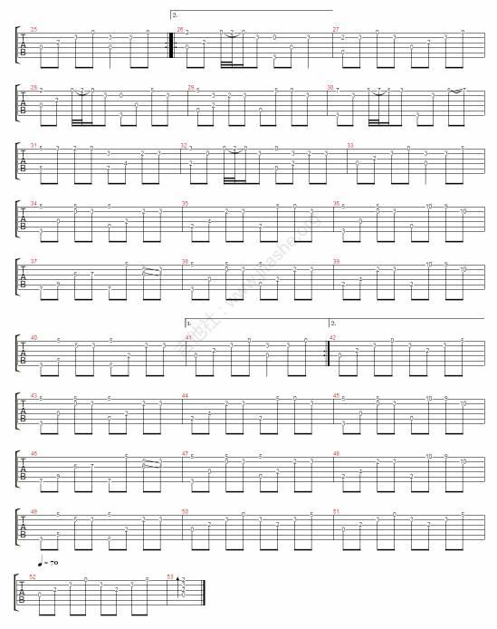 和弦简谱弹法_吉他和弦指法图和弹法
