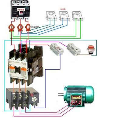电视的连接方式电路图_点动控制电路连接方法.的实物接法_百度知道