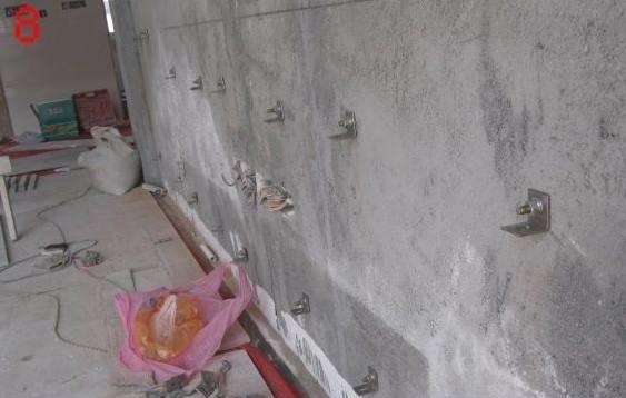 干挂石材钢骨架_什么叫石材的点挂,和干挂有什么区别?_百度知道