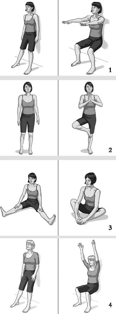 中老年练瑜伽的好处