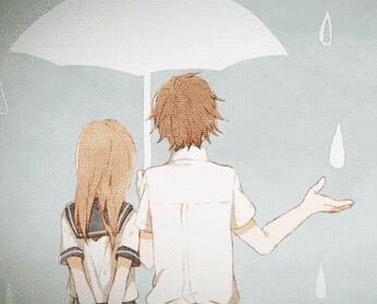 男女吵架下雨的图片_求一张图片,下雨天男的为女的撑伞,要动漫的谢谢_百度知道