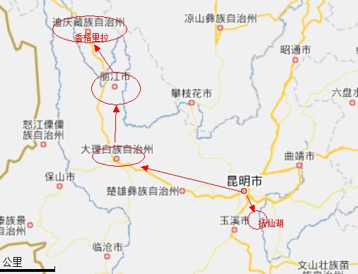昆明西山区地图全图