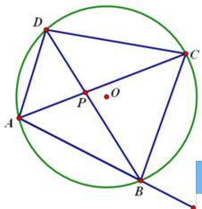 四圆定理的证明