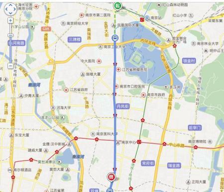 南京鼓楼区地图高清版