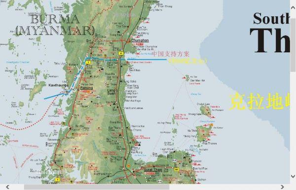 泰国开凿克拉地峡运河来取代马六甲海峡怎么样图片