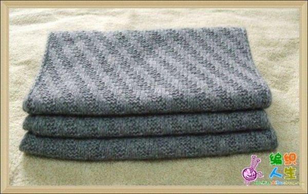 细线织围巾怎么起针_男士围巾怎么织 ! 样式简单点 细线 想织黑色 或灰色 最好要有 ...